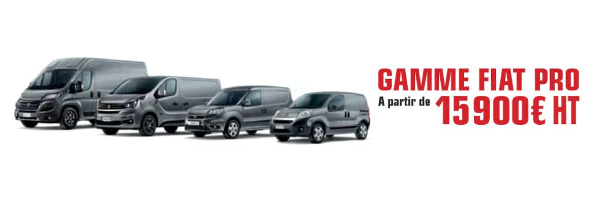 Gamme Fiat Pro Réunion